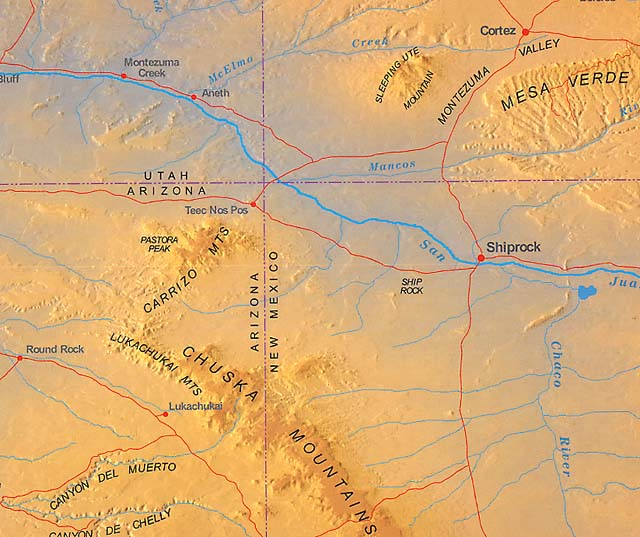 Map Of Arizona Indian Ruins.Time Traveler Maps Presents Images Of The Four Corners Map Sacred